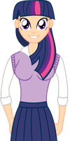 Human Twilight Sparkle Vector by Kronoxus