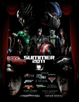 Summer 2011 Poster by GeekTruth64