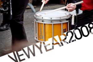 Drumming in the New Year by spr33