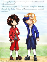 Lestat and Nicolas: Childhood by bibi-chan