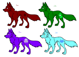 Wolfstuck (Not adoptable) Pt 3 by NepetaLejion713