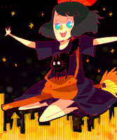 young witch by Koolaid-Girl