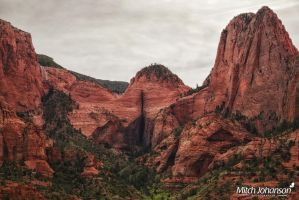 The Crack In the Red Rock by mjohanson