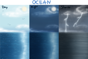 Background Practise p1: Ocean by Innuo