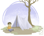 02-09-2013 Blanket Fort by DavidValdez