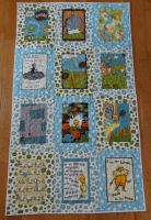 Lorax Baby Quilt in Earthtones by quiltoni