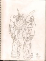 wheeljack tfp by Saphrire
