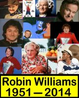 Robin Williams Remembered by The-Mind-Controller