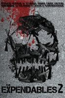 The Expendables 2 poster by DComp