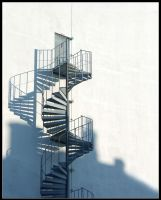 Stair Shadow by spaceron