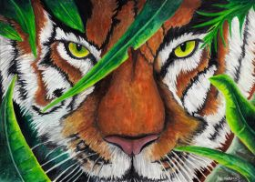 Eye of the Tiger by MalthusWolf