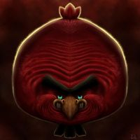 Red Angry Bird! by SimplySerg