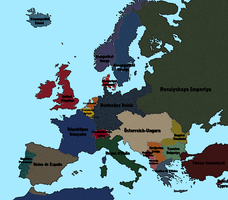 1913 Pre-war Europe by vaipaBG