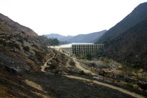 Lake Hodges- After the Fire by hotwiar