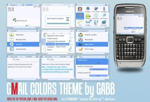 Gmail colors theme by Gabb by aztecwickedsun
