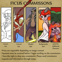 Commission Pricing by FicusArt