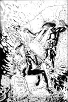 Mera Issue 1 Cover Inks by craigcermak