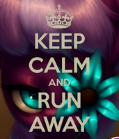 Keep Calm And Run Away by wolfbloodMANIA