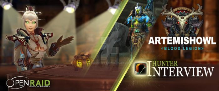 OpenRaid - Hunter Interview with Artemishowl by PaulWhipps