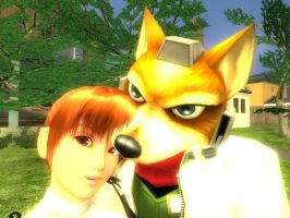 Fox and Kasumi by Barto22