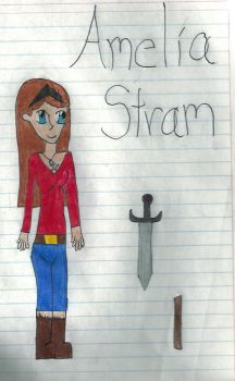 Amelia Stram by Iname4597