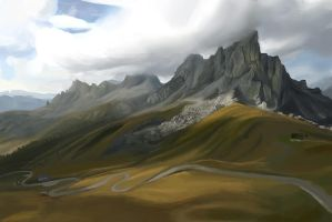 Landscape Study 1 by Howi3