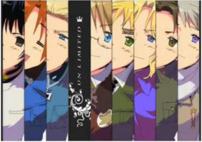Hetalia Axis Power and Allies by Yuuki987