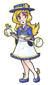 Ella the Electrifying by Coonae