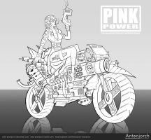 Pink Power by antonjorch