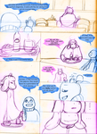 Undertale Comic: Preview by CoolFireBird