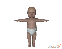 Mortal Kombat - Default baby by deexie