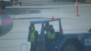 Me and my friend pushing back aircraft by boeingboeing2