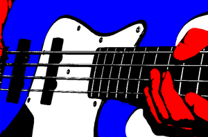 Haruko's Bass by evilgod84 by FLCL-CRUX