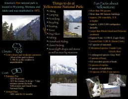 Yellowstone Brochure Side 2 by KCCreations