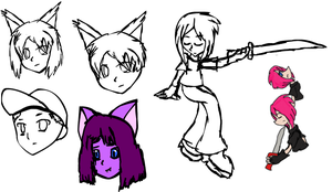 OLD: 2006 First Macromedia Flash Doodles by TheRebelPhoenix