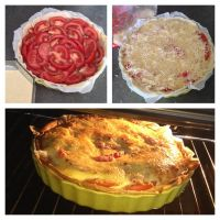 Tomato mustard and tuna quiche by Aude-la-randonneuse