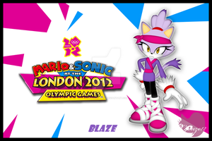 Blaze at the London Games by CCgonzo12