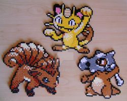 Pokemon sprite bead 7 by Chiki012