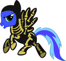 Partes is ready for Nightmare Night! by wolfsman2
