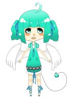 Angel Adoptable by emil-bee