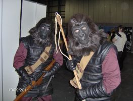 Planet of the Apes by BrandySnaps