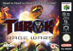 Turok: Rage Wars Front Cover by derrickthebarbaric