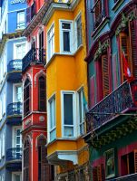 Beyoglu Houses by pointtheblue