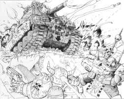 Warhammer Massive Attack by Brasuka
