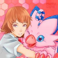 Sora - Love by Marugraphic