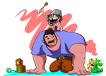 Marinette and Dad by Sir-Croco