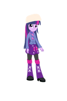 Twilight Winter Outfit by DeannaPhantom13