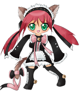 .:Kitty Maid:. by Salacberry