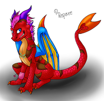 It's me D8 by Hazelthedragoness