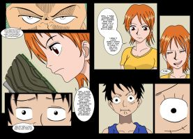 Nami becoming the Mask - Part 1 by MaskedWander